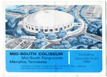 Mid-South Coliseum, Memphis, brochure, 1964