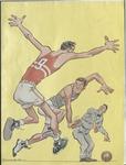 Treadwell High School vs Humes High School basketball program, circa 1961