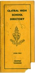 Central High School, Memphis, directory, 1950