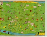 A Merry Mad Map of Memphis, 1944