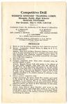 Memphis high schools ROTC competitive drill program, 1930