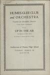 Humes High School Glee Club program, Memphis, 1930
