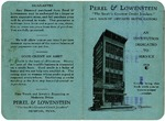 Perel and Lowenstein, Memphis, instalment plan card, 1928
