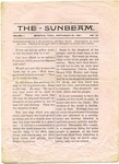 The Sunbeam, Memphis, 1891
