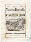 Tennessee Brewing Company advertising placard, 1890s