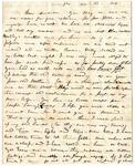 Rebecca Avery letter, Memphis, 1846