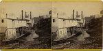 "Memphis Riverfront and ""T.E. Eckert"", circa 1880"