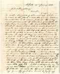 E.S. Campbell letter, 1842