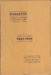 Malvern Public Schools Catalogue, 1931-1932