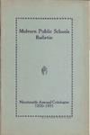 Malvern Public Schools Catalogue, 1930-1931