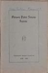 Malvern Public Schools Catalogue, 1929-1930
