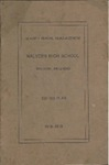 Malvern High School Annual Announcement, 1918-1919