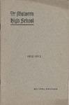 Malvern High School Annual Announcement, 1912-1913
