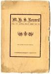 The M.H.S. Record, Malvern, Arkansas, 1909