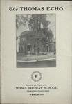 The Thomas Echo, Misses Thomas' School, Memphis, 2:3, 1909