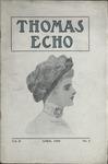 The Thomas Echo, Misses Thomas' School, Memphis, 2:4, 1909