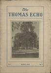 The Thomas Echo, Misses Thomas' School, Memphis, 1:4, 1908