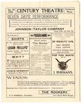 Century Theatre program, Jackson, Mississippi, 1904 January