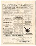 Century Theatre program, Jackson, Mississippi, 1904 February