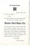 Century Theatre announcement, Jackson, Mississippi, 1902 April