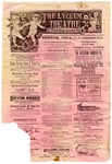 Lyceum Theatre, Memphis, program, February 1904