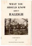 What You Should Know About Raleigh, Memphis, 1963