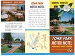 Town Park Motor Motel brochure, Memphis, circa 1960