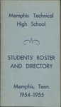 Memphis Technical High School Students' Roster and Directory, 1954-1955