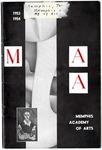 Memphis Academy of Arts catalog, 1953-1954