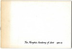 Memphis Academy of Arts catalog, 1966-1967