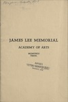 James Lee Memorial Academy of Arts catalog, Memphis, circa 1937