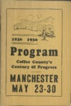 Coffee County's Century of Progress program, Tennessee, 1936