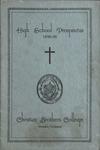 Christian Brothers College high school prospectus, Memphis, 1935-1936