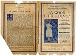 """A Good Little Devil"" movie flier, 1915"