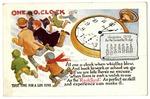 Rockford Watch advertising postcard, 1910