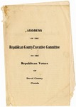 Address to Republican voters, Duval County, Florida, 1908