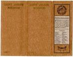 St. Joseph, Missouri, promotional booklet, 1907