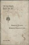 Memphis Woman's Council program, 1897