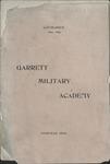 Garrett Military Academy catalog, Nashville, 1894