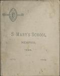 St. Mary's School, Memphis, catalog, 1892
