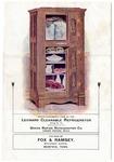 Leonard Cleanable Refrigerator pamphlet, circa 1890