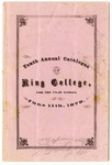 King College catalogue, Bristol, Tennessee, 1878