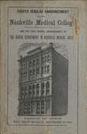 Nashville Medical College Announcement, 1878-1879