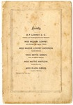 Blue Mountain Female College, Mississippi, announcement, 1876