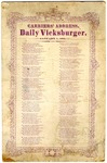 Daily Vicksburger, Mississippi, Carriers' Address, 1875
