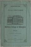 Medical College of Memphis announcement, 1870-1871