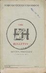 Elizabeth Messick High School, Memphis,  Bulletin, 2:3, 1910