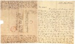 Letter from Elizabeth Cromwell Armour, Jackson, Tenn., to Richard Cromwell, Jr., Baltimore, Md., 1826