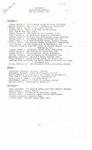 Shemya, Alaska, U.S. Army 329th Station Hospital roster, circa 1945