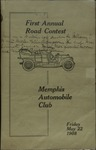 Memphis Automobile Club First Annual Road Contest, 1908